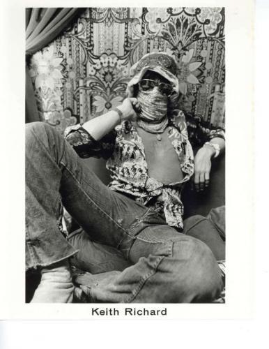 The Rolling Stones Original Tour of the Americas' 75 Bill Wyman 8x10 Photo