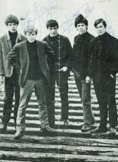 The Rolling Stones Signed 8x10 Program Photo Richards Jagger Jones PSA/DNA
