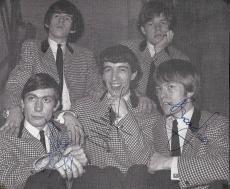 The Rolling Stones Signed Autographed 6x7 Photo JONES WYMAN WATTS PSA/DNA
