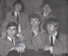 The Rolling Stones Signed Autographed 6x7 Photo JONES WYNAM WATTS PSA/DNA