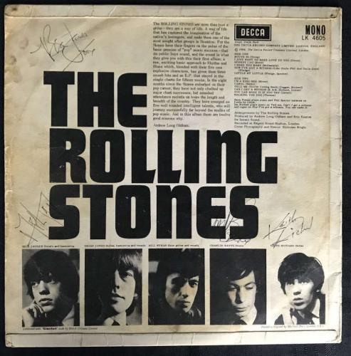 The Rolling Stones Signed Autographed Debut 1964 Album Jones Jagger Richards JSA