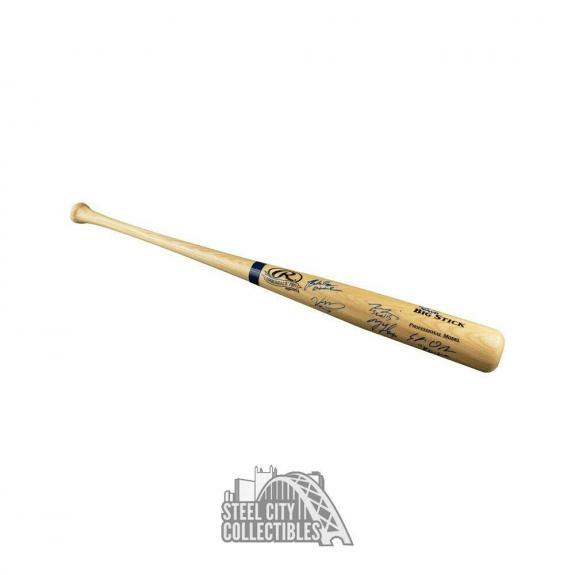 The Sandlot Cast Autographed Rawlings Baseball Bat - JSA COA (6 Autographs)