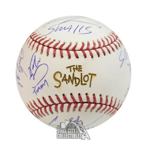The Sandlot Cast Autographed The Sandlot Official MLB Baseball - BAS COA