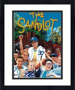 The Sandlot Cast Signed 8x10 Photo Guiry York Leopardi DiMattia Adams BAS COA A