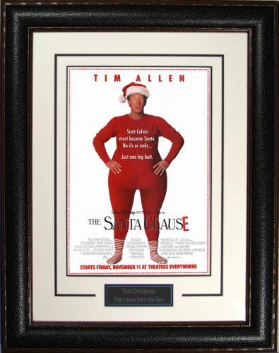 Tim Allen – The Santa Claus Movie Poster  – Framed 11×17