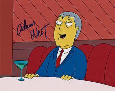 The Simpsons Signed 8x10 Picture Actor Adam West Autograph Photograph Cartoon