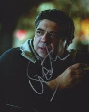 The Sopranos Vincent Pastore Signed 8x10 Photo
