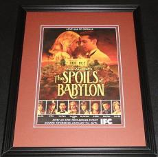 The Spoils of Babylon 2014 11x14 Framed ORIGINAL Advertisement Jessica Alba