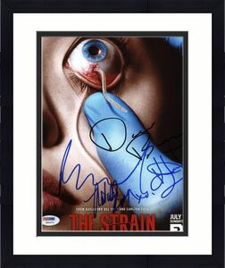 The Strain Cast (4) Bradley, Durand, Sammel & Brown Signed 8X10 Photo PSA W04375