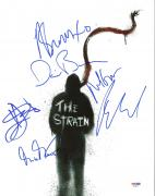 The Strain (Mia Maestro David Bradley +4) Signed 11X14 Photo PSA/DNA #AB08254
