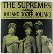 The Supremes Mary Wilson Signed Autographed Album LP Record JSA Authentic