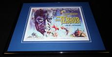The Terror Framed 11x14 Poster Display Boris Karloff Jack Nicholson Roger Corman