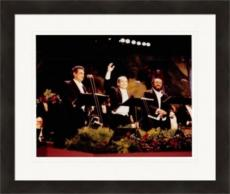 The Three Tenors 8x10 Photo (Luciano Pavarotti, Placido Domingo & Jose Carreras) Image #2 Matted & Framed