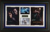 Twilight Saga: New Moon Cast Autographed Display