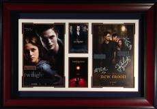 The Twilight Saga - Cast Autographed Framed Poster