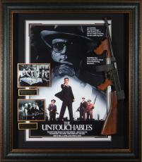 The Untouchables Cast Signed Poster Framed Prop Display