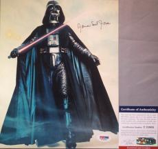 THE VOICE!!! James Earl Jones Signed STAR WARS Darth Vader 8x10 Photo PSA/DNA