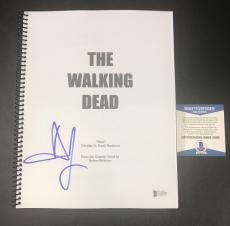 The Walking Dead Andrew Lincoln Signed Full Pilot Script Authentic Autograph Bas