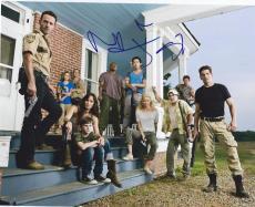 The Walking Dead Cast Signed 8x10 Photo Steven Yeun Jon Bernthal Norman Reedus