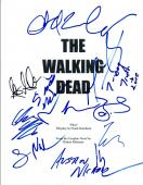 THE WALKING DEAD Cast Signed Autographed Pilot Script Norman Reedus +10 COA VD