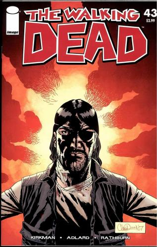 The Walking Dead Image Comics Run Ungraded Issues #43-48 6 Issues Nm/m