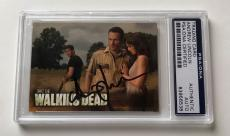 The Walking Dead Season 2 Andrew Lincoln Rick Signed Auto Card PSA/DNA