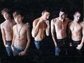 The Wanted Autographed 11x14 Signed Shirtless Photo x4 UACC RD AFTAL