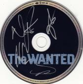 The Wanted Group Signed CD w/coa Proof Nathan Tom Siva and Jay