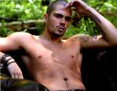 The Wanted Max George Shirtless Abs Autographed Signed 11x14 Photo AFTAL UACC RD