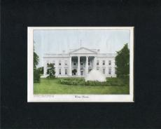1909 The White House Original Engraving Book Photo Display