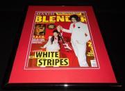 The White Stripes Framed 11x14 ORIGINAL 2003 Blender Magazine Cover