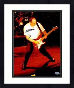 The Who Pete Townshend Autographed 11 x 14 Playing Guitar Photo Beckett BAS COA