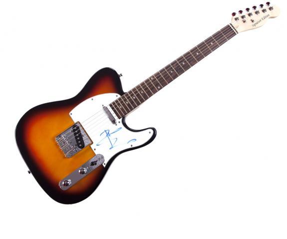 The Who Pete Townshend Autographed Signed Tele Guitar AFTAL UACC RD COA