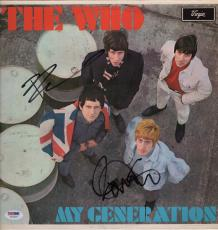 The Who Pete Townshend & Roger Daltrey Signed My Generation Record Album Psa Loa