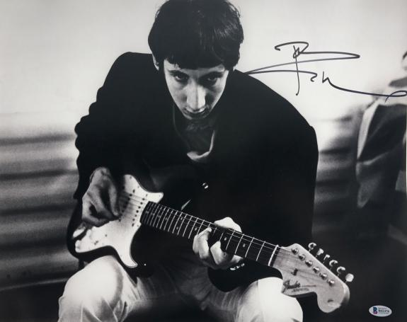 The Who Pete Townshend Signed Autographed 16x20 Photo Beckett Coa B41476