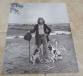 The Who Roger Daltrey Signed Autographed 10x12 Book Photo Beckett Certified READ