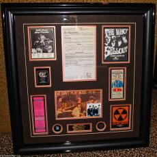 THE WHO vintage signed autographed photo KEITH MOON Townshend Daltrey PSA DNA