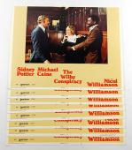 "The Willby Conspiracy 11"" x 14"" Movie Lobby Card Set of (8) ^ Michael Caine"
