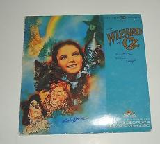 THE WIZARD OF OZ signed laser disc by Margaret Pellegrini and Karl Slover W/COA