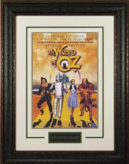 The Wizard of Oz unsigned 22x30 Masterprint Movie Poster Leather Framed w/ Judy Garland (entertainment/photo)