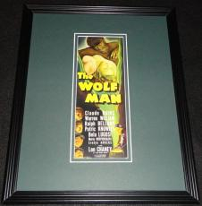 The Wolf Man Framed 11x14 Poster Display Official Repro Lon Chaney Claude Rains