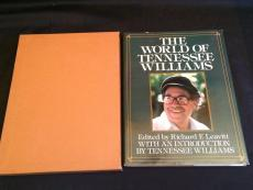 The World Of Tennessee Williams Rare Signed Autograph Limited Edition Large Book
