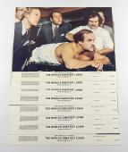 "The World's Greatest Lover 11"" x 14"" Movie Lobby Card Set of (8) ^ Gene Wilder"