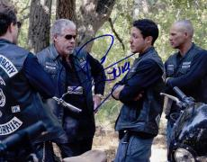 Theo Rossi Signed 8x10 Photo w/COA Sons of Anarchy Juice #2