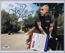 Theo Rossi Signed Autograph Auto 8x10 Psa Dna Certified