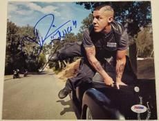 "THEO ROSSI Signed ""Juice"" 8x10 Photo Sons of Anarchy Auto w/ PSA/DNA COA"