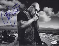 Theo Rossi Signed Sons Of Anarchy 8x10 Photo Jsa Coa