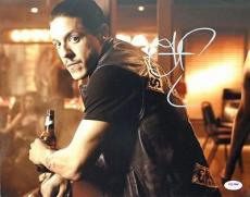 Theo Rossi Sons Of Anarchy Signed 11x14 Photo Psa/dna #t22280