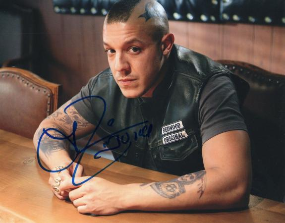Theo Rossi Sons of Anarchy TV Show Juice Signed 8x10 Photo w/COA #2