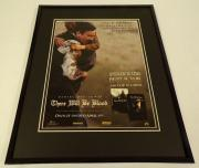 There Will Be Blood 2008 Daniel Day Lewis Framed 11x14 ORIGINAL Advertisement